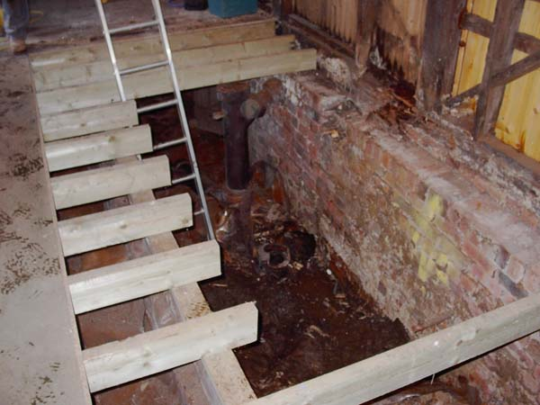 JOISTS CUT OUT