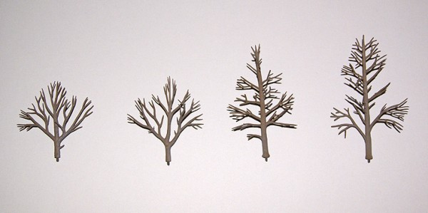 The Woodland Scenic tree armatures.