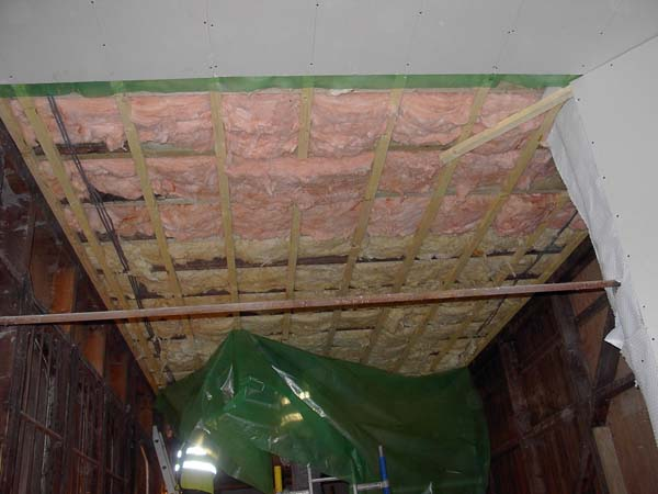 CEILING DURING REFURBISHMENT